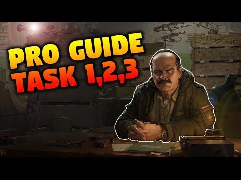 "Prapor Tasks 1,2 and 3 | Escape From Tarkov ""Pro"" Guides"