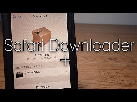Safari Downloader + - iOS 7 Safari & YouTube Download Tweak!