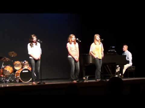 Halo-Katie Purmal, McKenzie Reimann, and Kayla Sut...