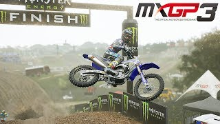 MXGP 3 Gameplay Deutsch #03 - Motorrad-Tuning