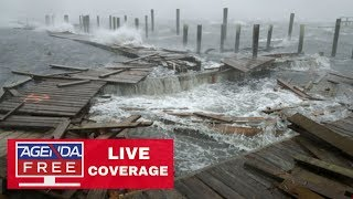 Hurricane Florence LIVE COVERAGE: The Flooding Begins - 9/14/18
