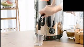 전기 자동 가열 보온 스테인레스 말통 물통 포트 음료 …