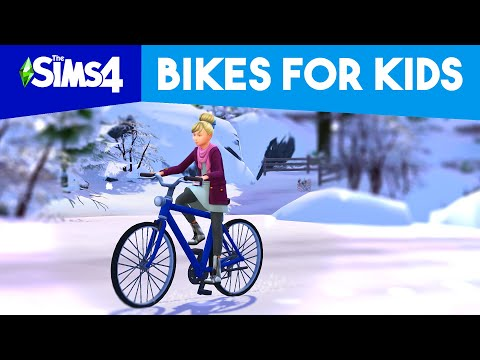 CHILD SIMS CAN NOW RIDE BIKES!! (Mod)
