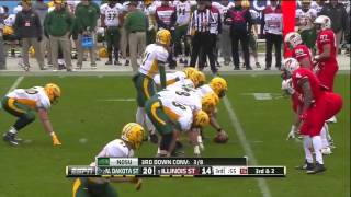 2014 FCS Championship North Dakota State vs Illinois State