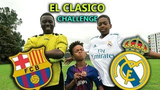 Barcelona vs Real Madrid El Clasico 1v1 Challenge | *Almost Deleted This!
