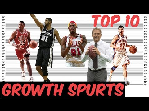 Top 10 Biggest Growth Spurts EVER RECORDED! - YouTube