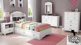 South Shore Tiara Collection Dresser Pure White Elegant And Glamorous Collection For Girls