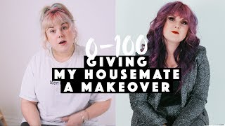 Giving my housemate a makeover