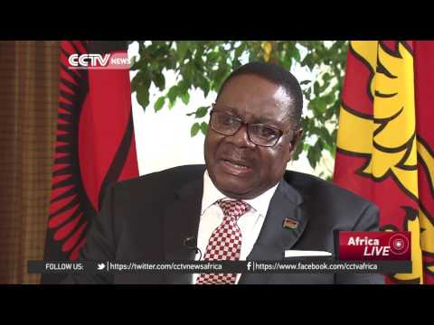Malawi's president calls for peaceful negotiations on South China Sea issue
