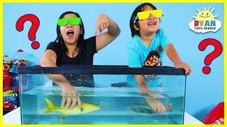 What\'s in the Box Challenge Underwater Version!!!