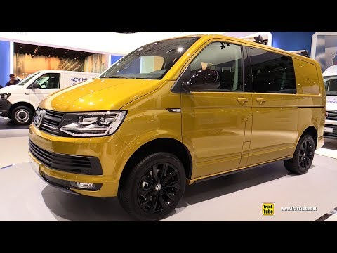 2019 Volkswagen Transporter with Exterior Sports Package - Walkaround - 2018 IAA Hannover