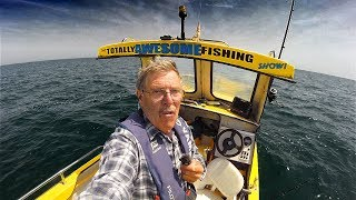 Man Fishing Alone Overnight in a Tiny Boat | Solo Fishing | FULL DOCUMENTARY