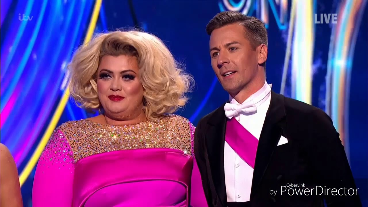 Download Gemma Collins and Matt Evers skating in Dancing on Ice (Musicals Week) (20/1/19)