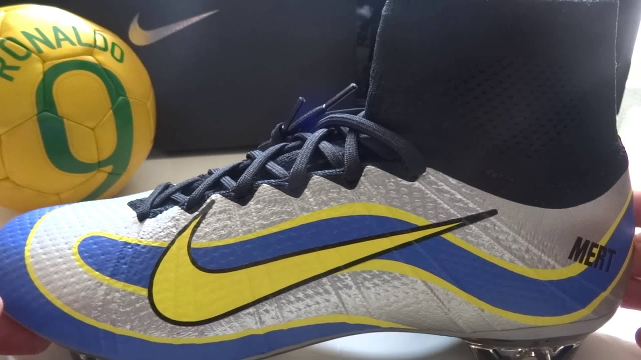 Unboxing My Nike Mercurial Superfly Heritage R9 Ronaldo Fenomeno Boots