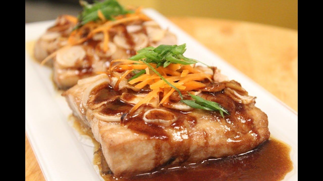 Ginger And Scallion Fish | Fish Recipes | Sanjeev Kapoor Khazana ...