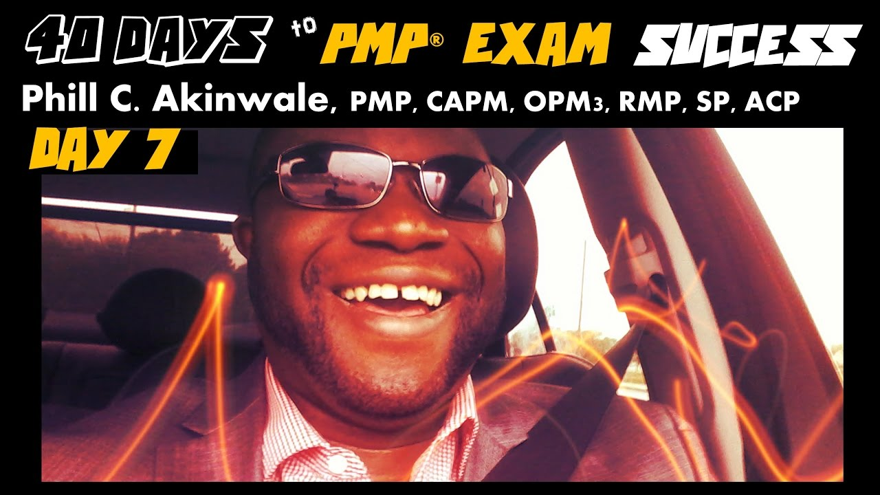 40 Days To Pmp Exam Success Day 7 Pmbok Guide Chapter 1 Youtube