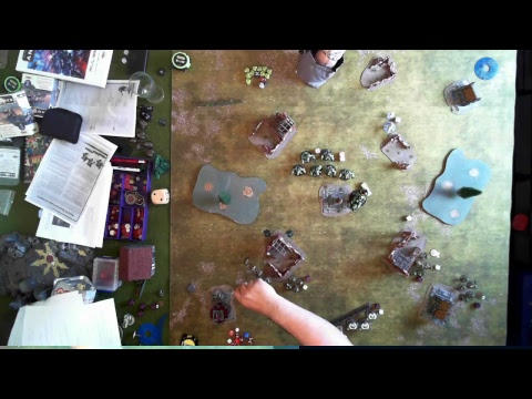 Gates of Antares Interactive Battle Report - Ghar Vs Concord - 750 points part 1