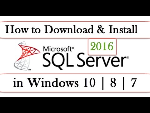 How To Download Install Microsoft Sql Server Management Studio