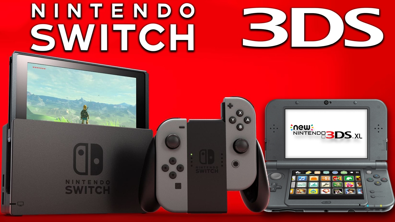 Image result for Nintendo 3DS and Nintendo Switch