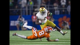 Dexter Williams (RB Notre Dame) vs Clemson || 2019 Cotton Bowl || FULL COVERAGE