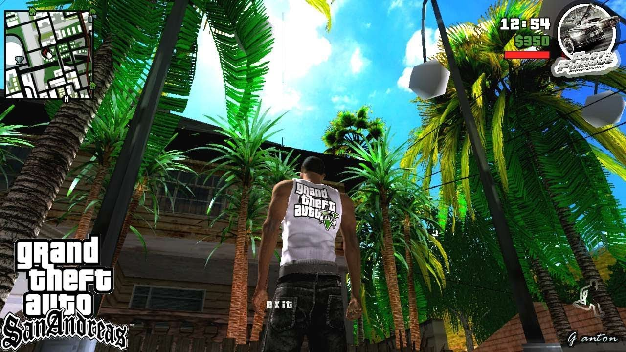 BSOR Mix Insanity Vegetation HD | HD Trees For GTA Sa Android | Import