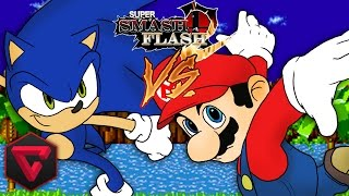 MARIO VS SONIC: SUPER SMASH FLASH 2