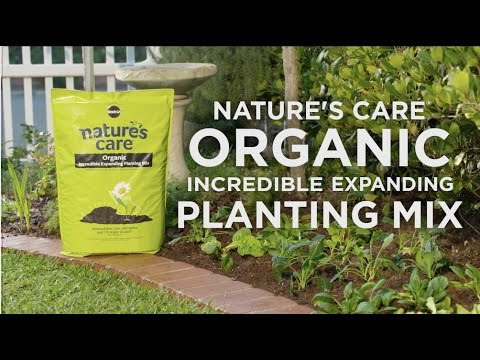 How to Use Nature's Care® Organic Incredible Expanding Planting Mix