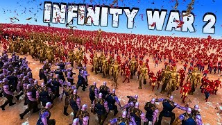 Infinity War 2 - 300 Thanos From All Universes vs 10000 Avengers - Ultimate Epic Battle Simulator