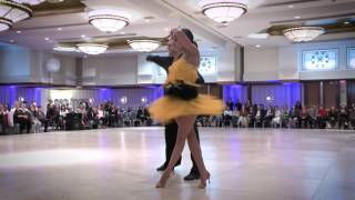 Troels Bager & Ina Jeliazkova Samba - 2016 Washington Open DanceSport Competition