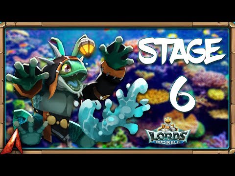 Limited Challenge: Crazy Chef Stage 6! Sea Squire MVP! Lords Mobile