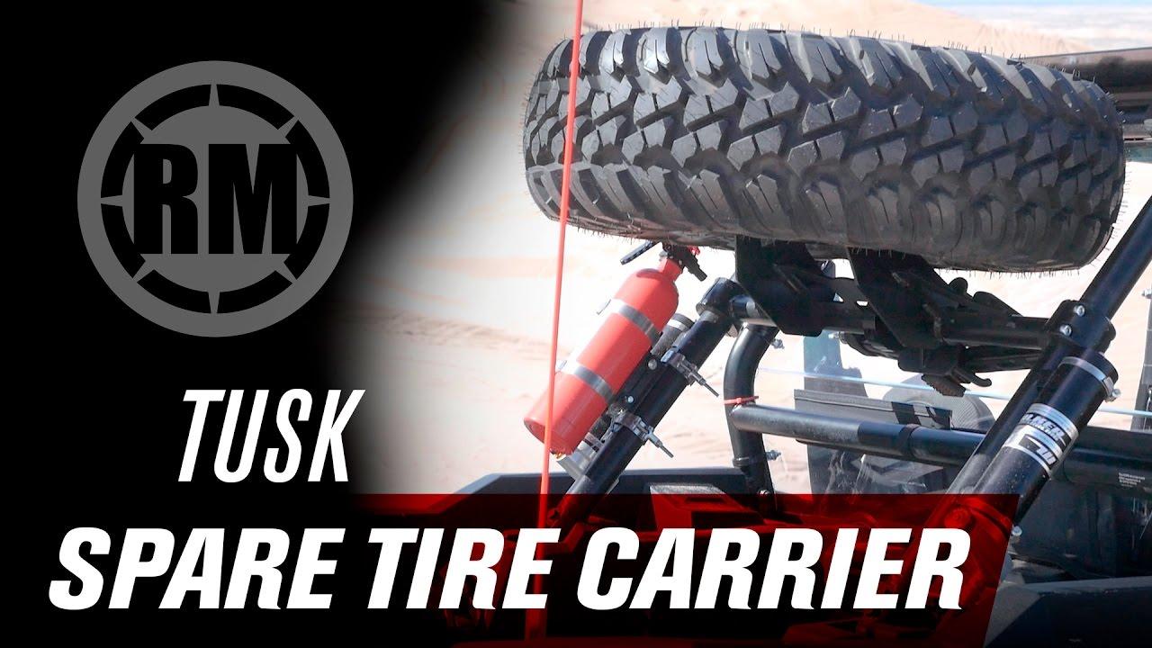 tusk utv spare tire carrier