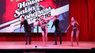Houston Salsa Congress 2016 - Sunday Night - 30. Majesty in Motion - Pro Team