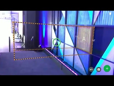 Google Measure It demo with Tango