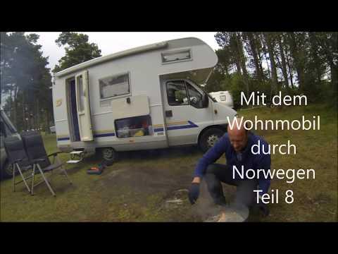 Norwegen Teil 8 Wohnmobil Rundreise, Farsund Lomsesanden Familiecamping