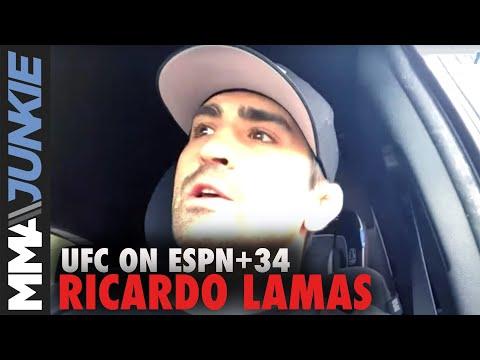 Ricardo Lamas not afraid of Ryan Hall's jiu-jitsu | UFC Fight Night pre-fight interview