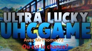 UhcGames #1: UltraLucky avec MrThomas72! Ou est la chance?