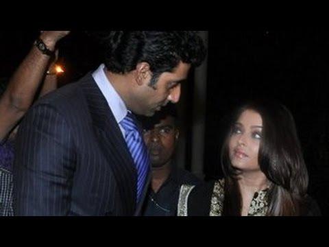 Aishwarya Rai & Abhishek Bachchan PARTY TOGETHER