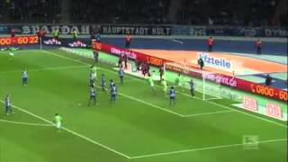 Video Gol Pertandingan Hertha Berlin vs Wolfsburg