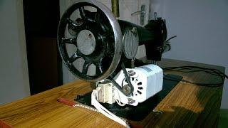 Motor fitting in sewing machine easy method