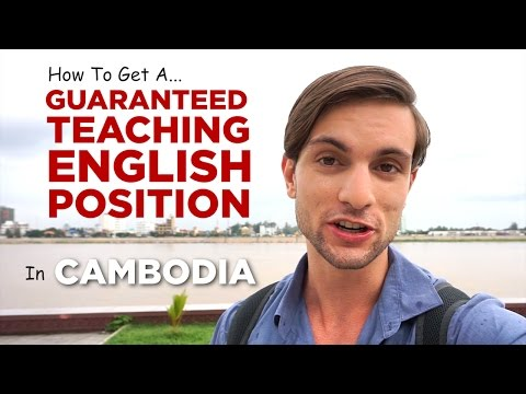 How To Get A Guaranteed Paid Teaching English Job in Cambodia (To Fund Travel & Adventure)