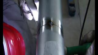 Aula de solda TIG na pos. 5G em tubo de aço inox. (tutorial stainless steel pipe,in 5G position)