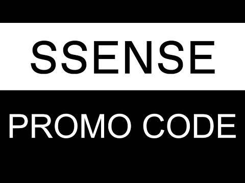 How To Use Coupons At SSENSE Canada