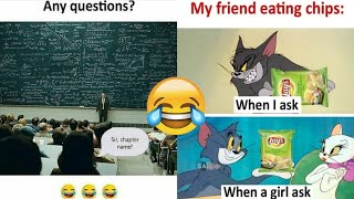 School funny memes |Only students will find it funny | Part - 30