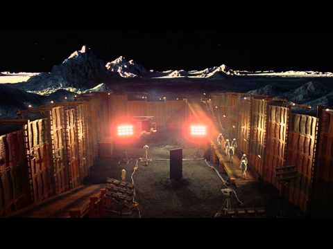 2001: Space Odyssey Best Scenes - The Monolith At The Moon