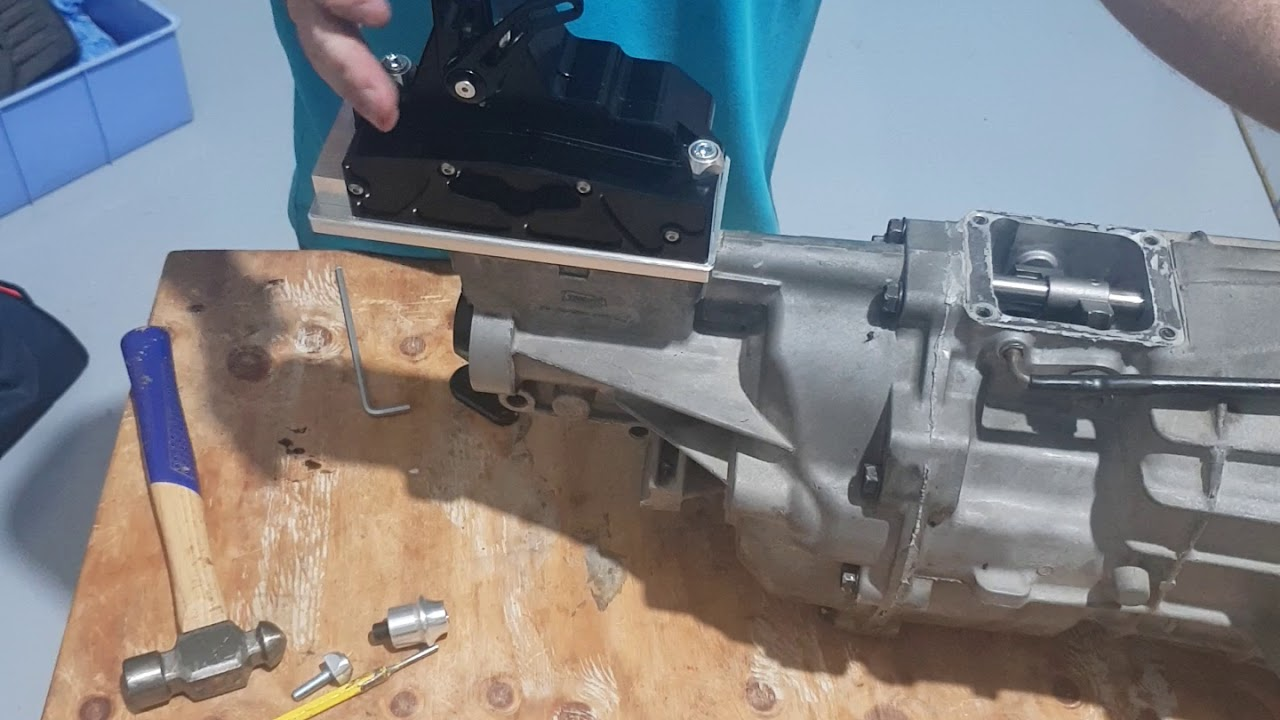 Sequential shifter install : S1 sequential
