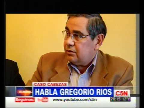 C5N - CASO CABEZAS: ENTREVISTA EXCLUSIVA A GREGORI...