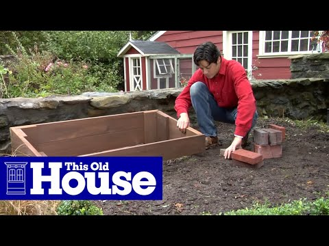 How To Build A Cold Frame This Old House Youtube