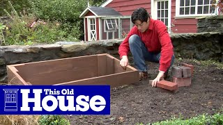 How To Build A Cold Frame - This Old House