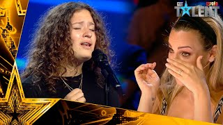 This GIRLS wins the GOLDEN PASS singing a prayer | Auditions 5 | Spain's Got Talent 2021