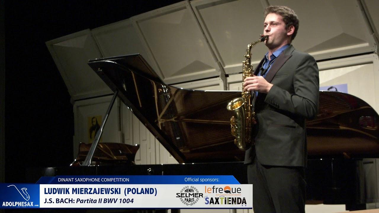Ludwik Mierzejewski (Poland) - Partita II BWV 1004 by J.S.Bach (Dinant 2019)